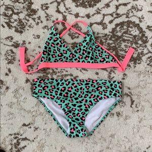 Other - Girl's Cute Leopard Print Bikini